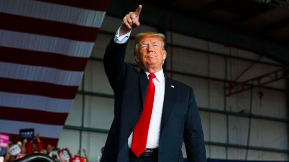 Detenciones de migrantes alcanzan récord durante mandato de Trump - Donald Trump. Foto de ABC News reelección