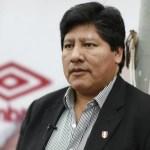 Fiscalía pide prisión preventiva para el jefe del futbol peruano - Foto de USI