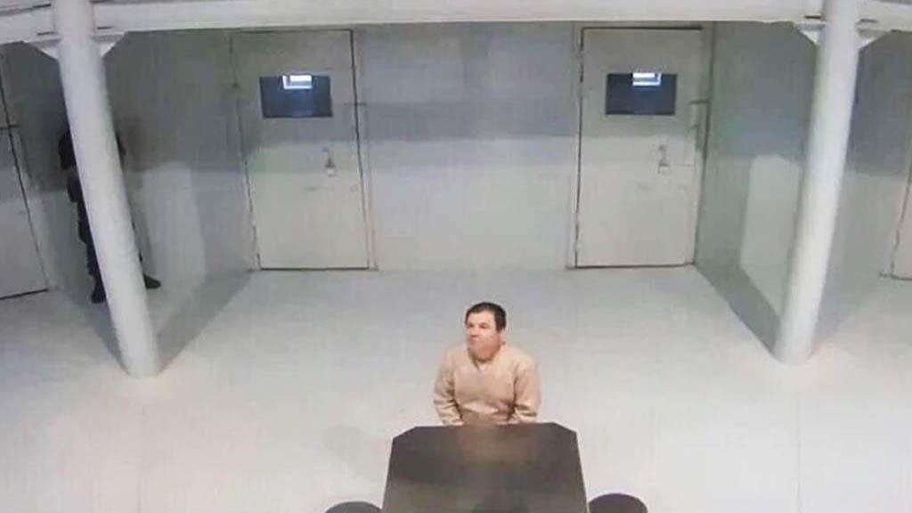 El chapo en prisión de EE.UU. Foto de Internet