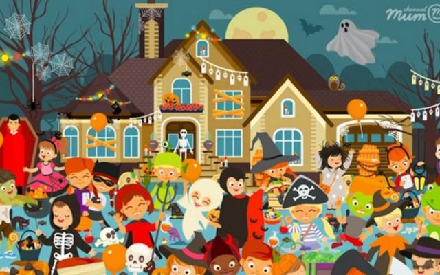 #RetoViral Encuentra las 10 calabazas de Halloween - Foto de ChanelMum.com