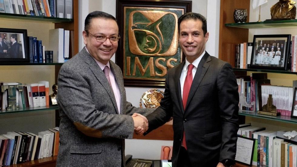 Senado aprueba licencia de Germán Martínez para que encabece el IMSS - Foto de Saludiario