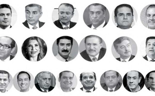 La presencia de gobernadores en los medios mexicanos - Foto de Excélsior
