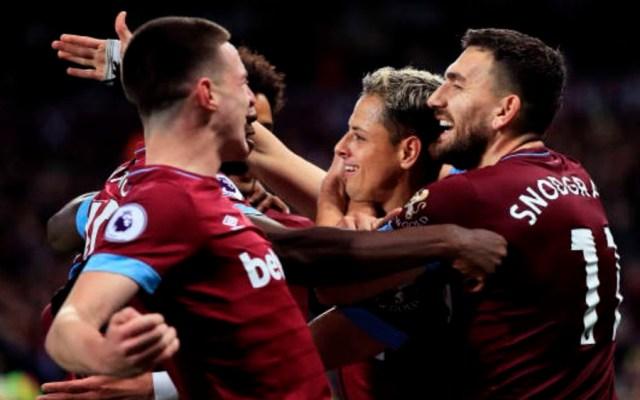 #Video Gol de Chicharito en victoria del West Ham - Foto de Getty