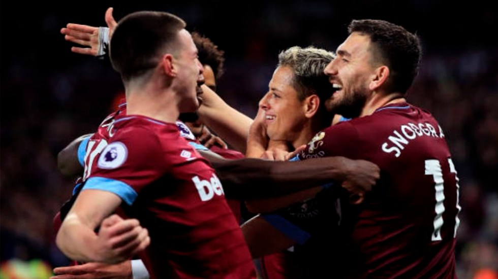 #Video Gol de Chicharito en victoria del West Ham - Foto de Getty