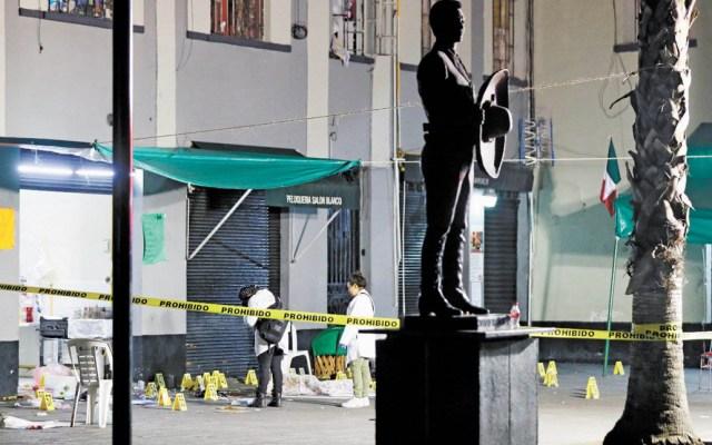 """Vinculan a proceso al """"rata"""" por homicidios en Plaza Garibaldi - Escena del crimen en Plaza Garibaldi. Foto de Internet"""