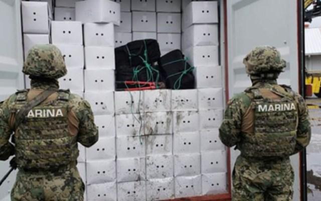 Aseguran 100 kilogramos de cocaína en Manzanillo - Incautan cocaína en barco de manzanillo