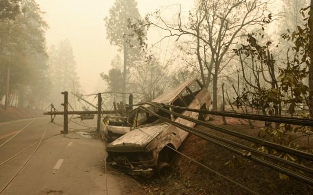 Ya son 23 muertos por los incendios en California - Foto de AFP