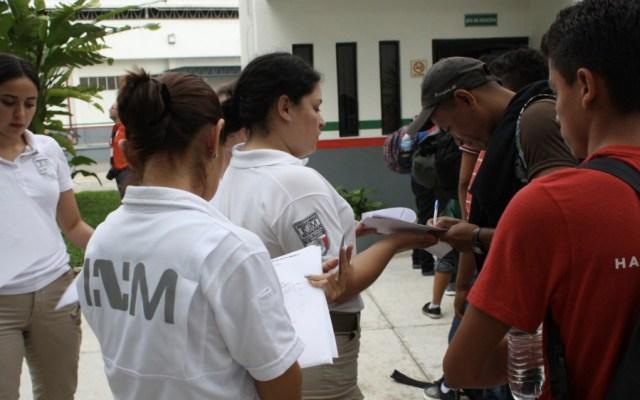 Tres mil 257 centroamericanos han solicitado refugio en México - Foto de @INAMI_mx