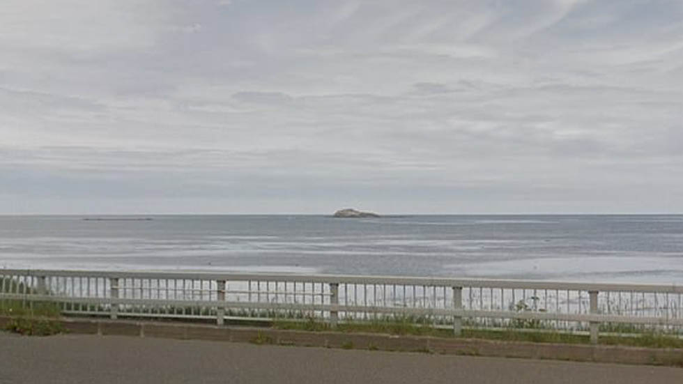 Desaparece isla al norte de Japón - Isla Esambe Hanakita Kojima en Japón. Foto de Google