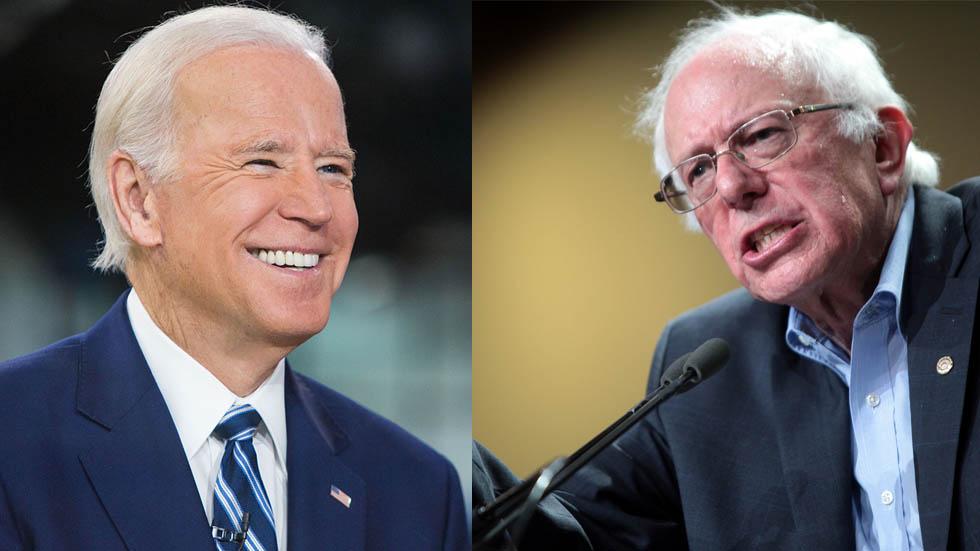 Biden y Sanders son los preferidos por los demócratas para el 2020. Noticias en tiempo real