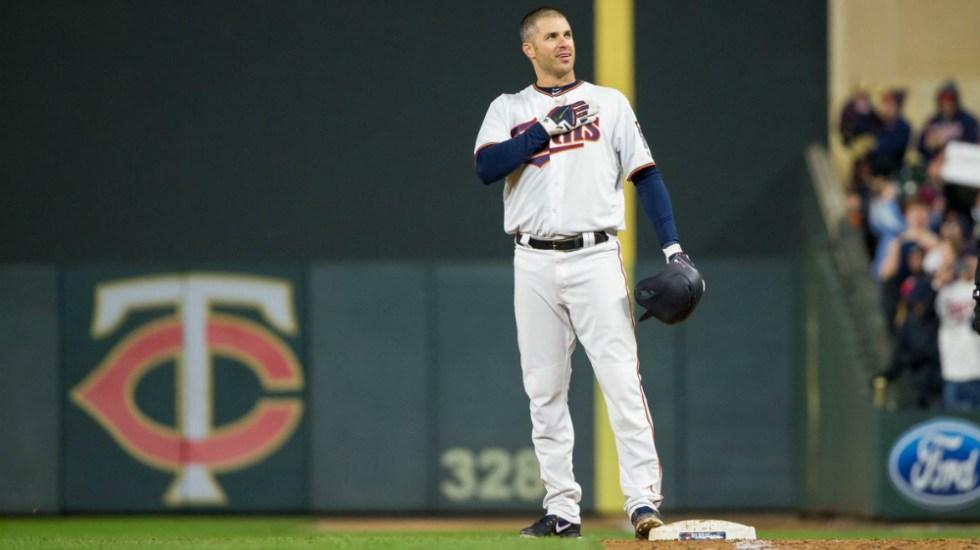 Joe Mauer anuncia su retiro tras 15 años con Mellizos en MLB - Foto de USA Today