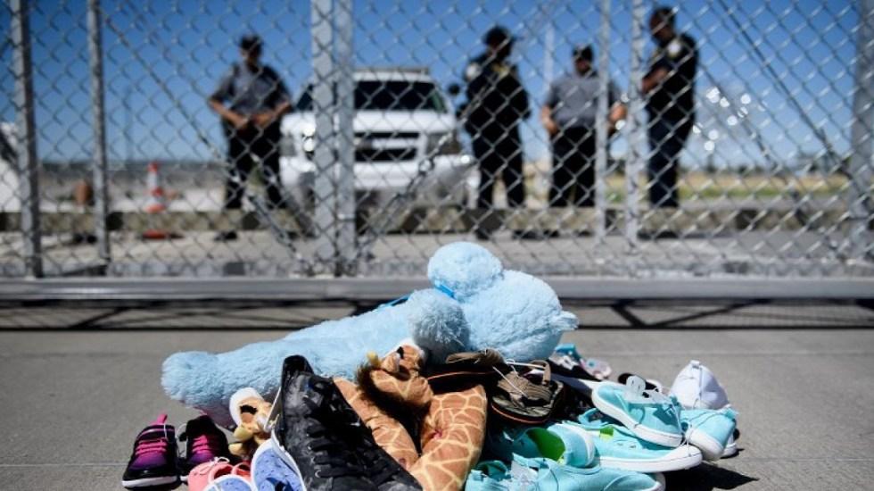 'Tolerancia cero' en EE.UU. separará de sus padres a 100 niños migrantes - Juguetes y pertenencias de niños separados de sus padres migrantes. Foto de Internet