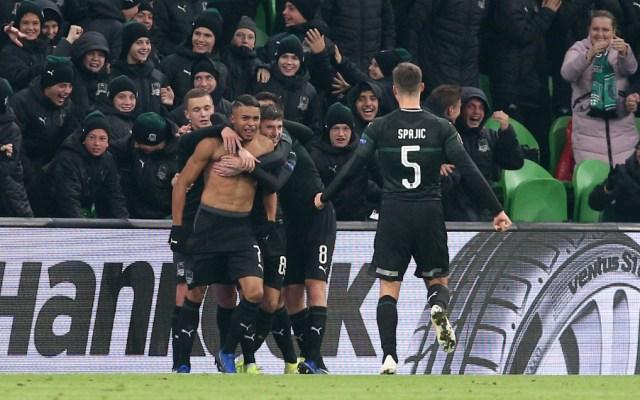 Con Ochoa en la portería, Standard Lieja perdió 2-1 ante el Krasnodar - Foto de AFP