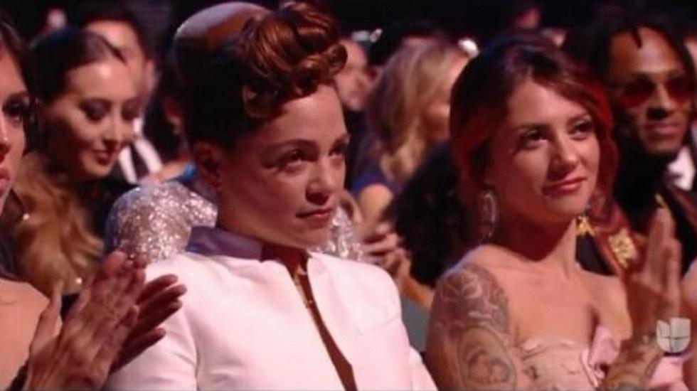 Lafourcade explica gesto a Maluma durante Latin Grammy - Foto de internet