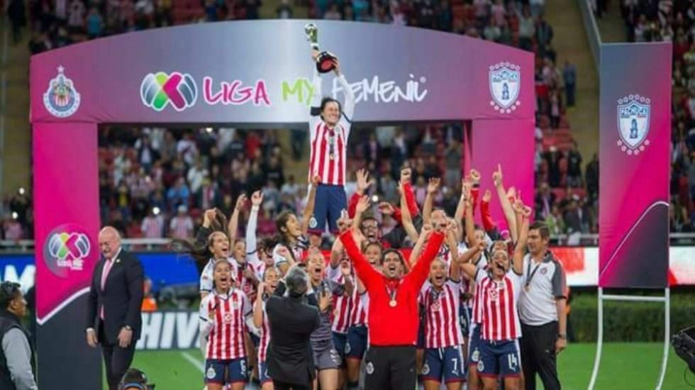 ¿Cuánto ganan las jugadoras de la Liga MX femenil al año? - Foto de @ChivasFemenil