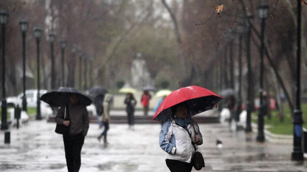 Frente frío causará lluvias y bajas temperaturas en gran parte del país - Lluvia. Foto de Internet