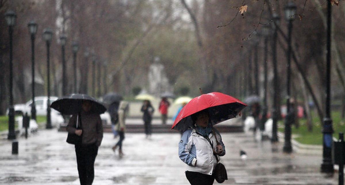 Lluvia. Foto de Internet