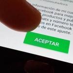 """Lo que esconden las """"letras chiquitas"""" al unirse a WhatsApp - Términos y condiciones de WhatsApp. Foto de Internet"""