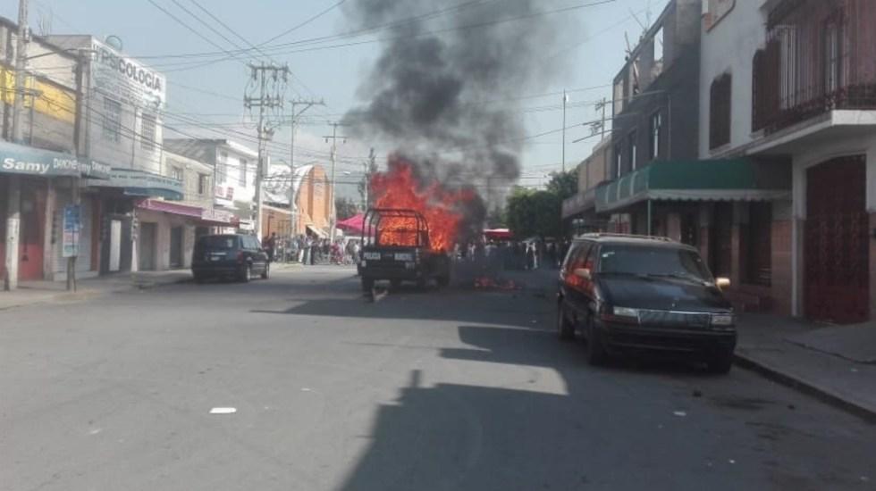 Conductor de camioneta atropella y mata a una niña en Los Reyes La Paz - Foto de @IxtapalucaAntes