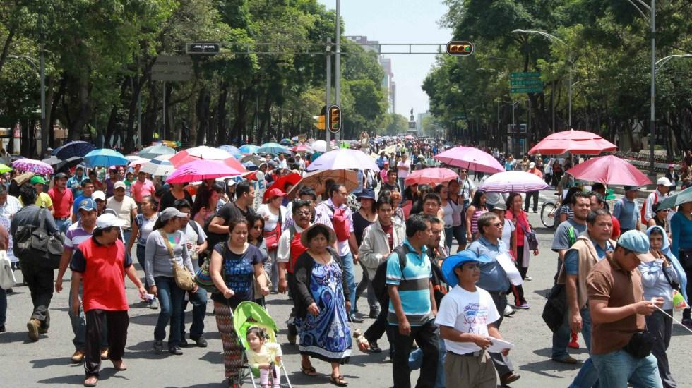 Las manifestaciones de este viernes en Ciudad de México - movilizaciones en la ciudad de méxico