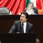Morena pide a congresos estatales apoyar Guardia Nacional - Mario Delgado en la Cámara de Diputados. Foto de @mario_delgado1
