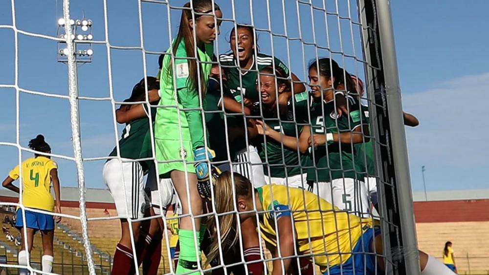 México sorprende y vence a Brasil