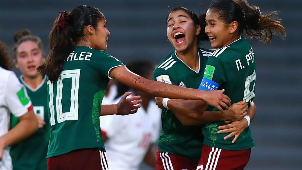Tri femenil Sub-17 clasifica a final de Mundial Uruguay 2018