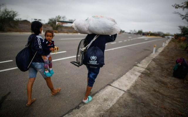 Al menos 2.3 millones de venezolanos han abandonado su país desde 2015 - Foto de AFP