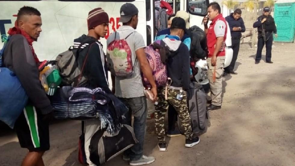 Al menos 200 migrantes de primera caravana arriban a Guanajuato - Foto de @IrapuatoPC