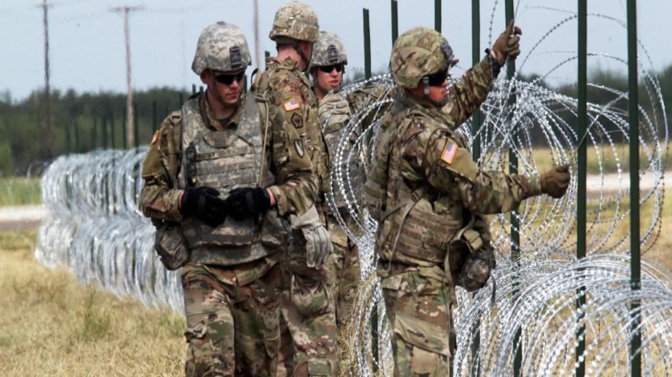 Pentágono se opuso a Trump al uso de militares en frontera - Foto de Reuters