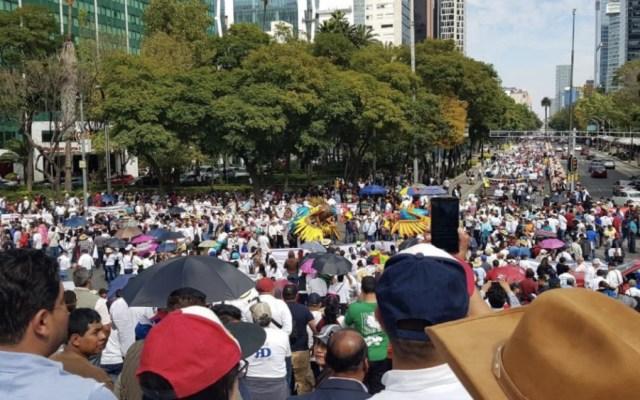 Al menos cinco movilizaciones este sábado en la Ciudad de México - Foto de @ntrtoros