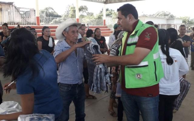 Incomunicadas 10 comunidades de Oaxaca por lluvias - Foto de @visionpolitica7