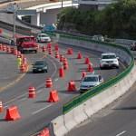 Autorizan el retiro de muros de contención del Paso Express - Foto de Cuartoscuro