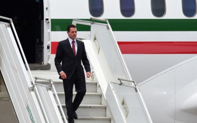 INAI ordena brindar información de viáticos de Peña Nieto - peña nieto aterriza en argentina