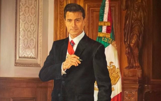 Colocarán retrato de Enrique Peña Nieto en Palacio Nacional - retrato peña nieto galeria de los presidentes