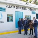 Entregan plantas potabilizadoras que abastecerán a Coyoacán e Iztapalapa - Foto de La Jornada