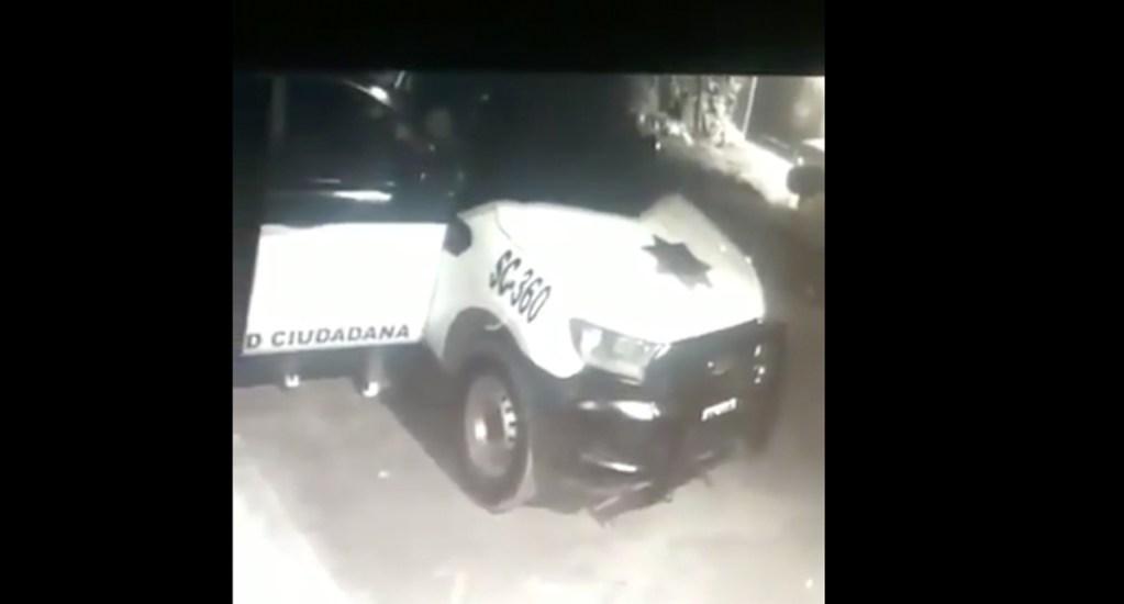 #Video Asesinan a policía en robo a patrulla en Tultitlán