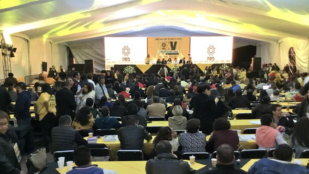 Desacuerdo entre corrientes 'revienta' congreso del PRD - Foto de @PRDMexico