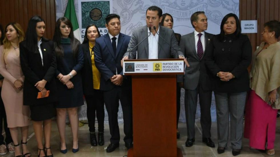 Con llegada de nuevo gobierno está en riesgo la República: PRD - Foto de Quadratín