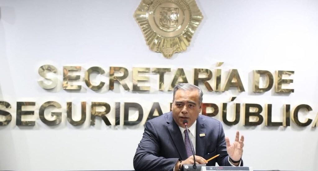Fiscalía capitalina solicita congelar cuentas de Raymundo Collins - Raymundo Collins Flores, secretario de Seguridad Pública de la CDMX. Foto de @SSP_CDMX