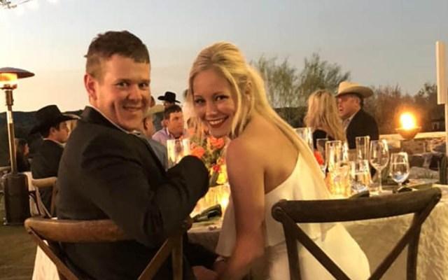 Recién casados mueren al ir a su luna de miel en helicóptero - Will Byler y Bailee Ackerman. Foto de Taylor Payne