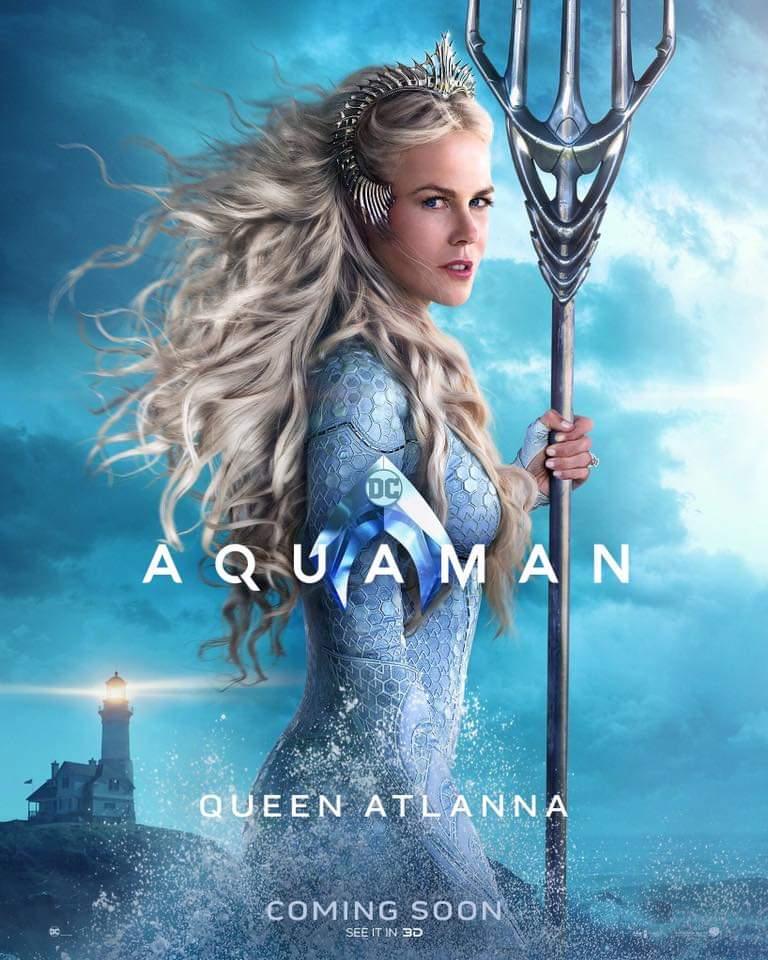 Reina Atlanna. Foto de Warner Bros Pictures