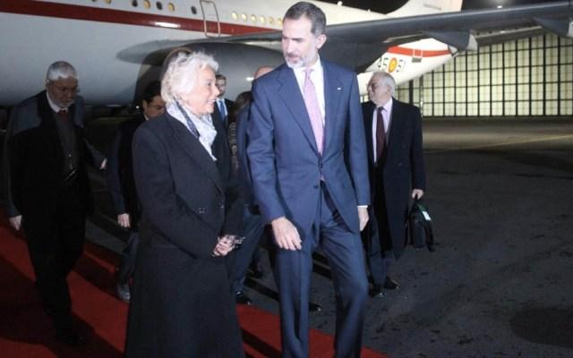 Rey Felipe VI de España llega a México para asistir a toma de protesta de AMLO - Foto de @ConsulMexDelRio