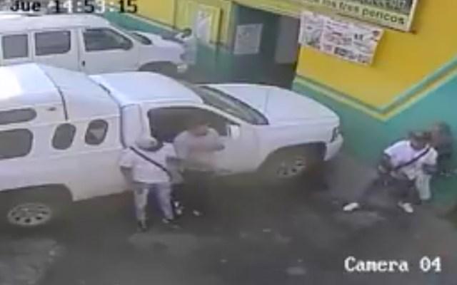 #Video Cámaras de seguridad registran asalto en La Merced