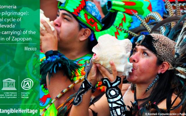 Declaran Romería de Zapopan como Patrimonio de la Humanidad - Foto de @UNESCO