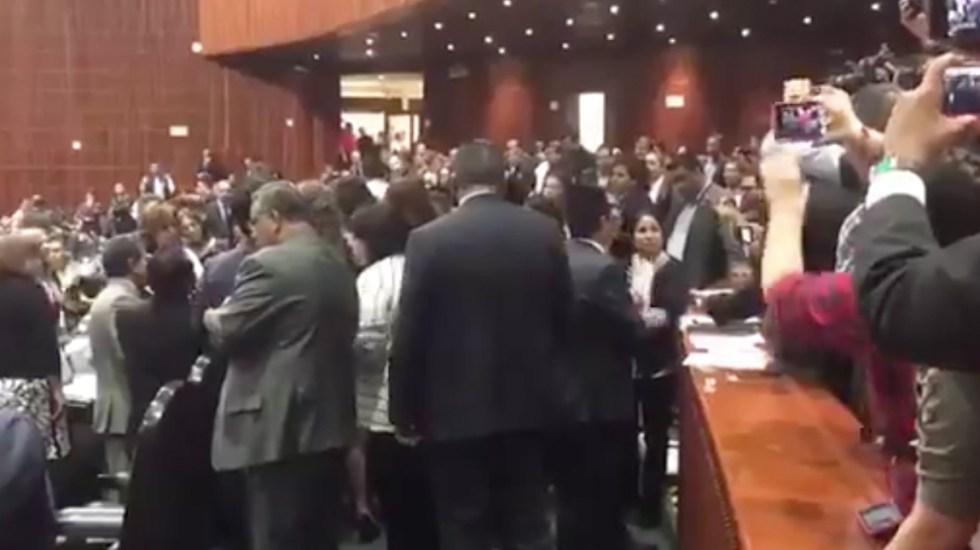 Asesinan a hija de diputada; suspenden sesión en San Lázaro