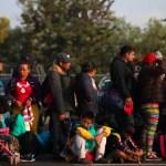Segunda caravana de migrantes llega a Irapuato - Foto de Twitter