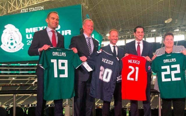 Selección mexicana jugará cada año en Dallas hasta 2022 - Foto de @miseleccionmx