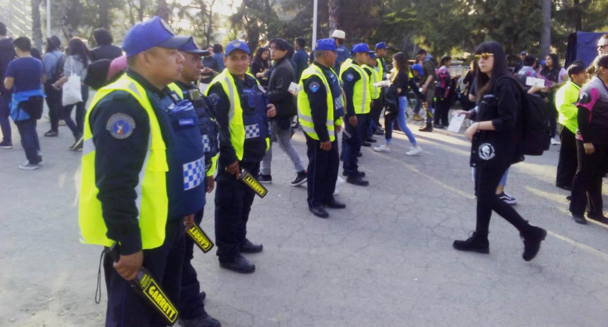 Detienen a mujer por robo de celulares en el Corona Capital