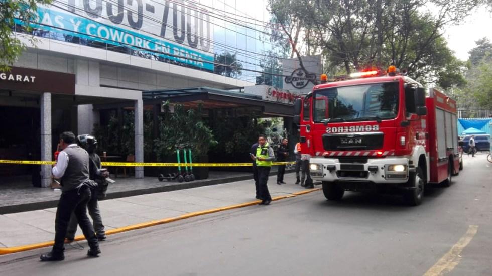 Explosión en Lomas de Chapultepec deja dos heridos - Explosión en Lomas de Chapultepec deja dos heridos